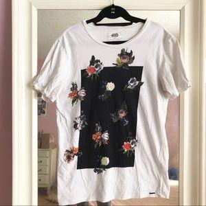 Star Wars floral shirt